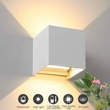 12 w nachtlicht für wohnzimmer wandleuchte 2 stück modern