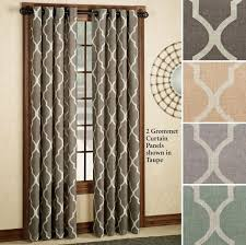 Geometric Pattern Grommet Curtains by Geometric Pattern Grommet Curtains 28 Images 1000 Ideas About