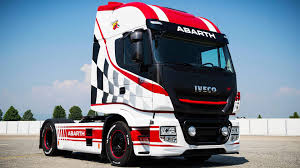 100 Iveco Truck And Abarth Partner To Give Semis Sharper Look