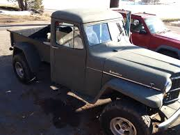 1959 Classic Willys Pick Up Truck - FOR SALE: For Sale Classic 1959 ... Is The Jeep Pickup Truck Making A Comeback Drivgline For 7500 Its Willys Time Another Fc 1962 Fc170 Exelent Frame Motif Framed Art Ideas Roadofrichescom Stinky Ass Acres Rat Rod Offroaderscom 1002cct01o1950willysjeeppiuptruckcustomfrontbumper Hot 1941 Network Other Peoples Cars Ilium Gazette Thoughts On Building Trailer Out Of Truck Bed 1959 Classic Pick Up For Sale Sale Surplus City Parts Vehicles 1950 Rebuild Jeepforumcom