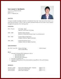 College Student Resume Samples No Experience Best Collection