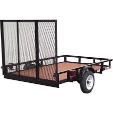 Husky 5 Ft. X 8 Ft. Utility Trailer-SU5081 - The Home Depot