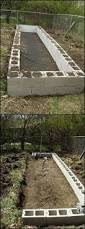 cinder block raised bed i want to do this along the side of our
