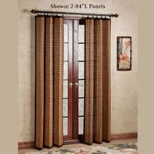 Bamboo Patio Curtains Outdoor by Bamboo Ring Top Curtain Panels