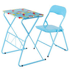 100 Folding Table And Chairs For Kids Shop Costway Chair Set Study Writing Desk Student