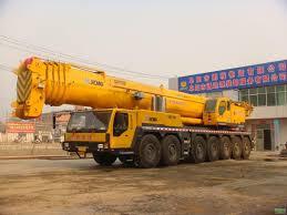 100 Truck Mounted Crane Small Hydraulic 20t Good Road Adaptability