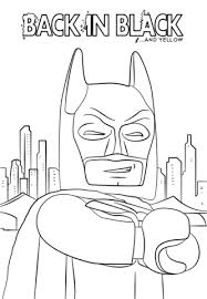 Click To See Printable Version Of Batman From The LEGO Movie Coloring Page