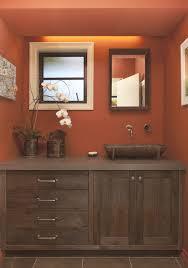 like this the orange orange badezimmer haus deko