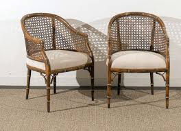 Beautiful Vintage Faux Bamboo/Cane Barrel Back Chairs - 4 ... 51 Wicker And Rattan Chairs To Add Warmth Comfort Any 1960s Vintage Drexel Caned Barrel Back A Pair For Soldpair Of High Barrel Back Caned Reading Chairs Antique Teak Posts Facebook Tortuga Low Chair Of Mid Century Cane Club By Mcguire Ding Room Toboggan Arm Mcgm130c Set Six Danish Leather Kofodlarsen Style Midcentury Side Claude