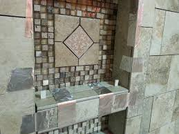 how to tile the inside of a niche gallery tile and
