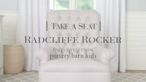 Radcliffe Rocker | Pottery Barn Kids - YouTube Rocker Reviews Pottery Barn Kids Lay Baby Dream Our Foclosure Best 25 Swivel Rocker Chair Ideas On Pinterest Ikea Rocking Decor Slipcover Chairs Slipcovers Penguin Plush By Havenly Fniture Lazy Boy Clearance Small Recliners For Apartments Custom Slipcover For Your Pb With Wooden Pbk Summer 2016 Nursery Mailer Page 13 Pin Di The Treehouse Design Studio Su Bobbie Sanghvi Silks All About Collection And