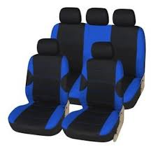 ebay siege auto land rover freelander 1 and 2 black blue car seat covers cover ebay