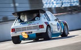 Peugeot 205 T16 Evo 2 Rally Voor gebruikte onderdelen van de