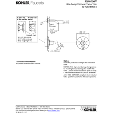 Kohler Kelston Faucet Manual by Kohler K Tls13493 4 Cp Kelston Polished Chrome One Handle Shower
