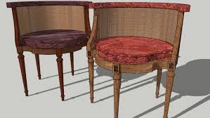chaise de bureau antique louis xvi chaise de bureau choice of models 3d warehouse