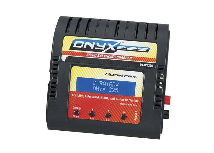 Duratrax DTXP4225 Onyx 225 Advanced Battery LiPo Charger - AC/DC