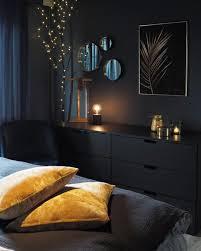 schlafzimmer in dunklen wandfarben dunkles schlafzimmer
