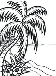 Ocean Coloring Pages Free Printable Beach Animals Full Size