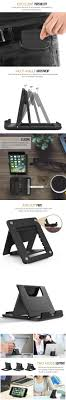 Universal Desk Cell Phone Holder Mobile Phone Stand Foldable Adjustable Tablet Stand for iPhone Samsung