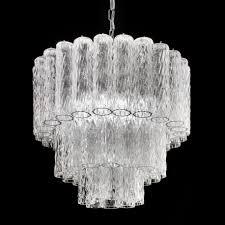 Tronchi Murano Glass Chandelier