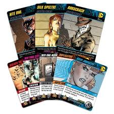 psi playhouse dc comics deck building watchmen