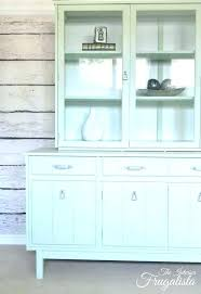 Dining Room Hutch Ideas Chalk Painted China Cabinet Ideas Painted