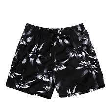 100 Coco Republic Sale Mens Floral Shade Board Shorts In Black
