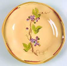 Clay Art Rustic Vines Salad Plate