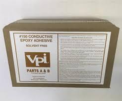Vpi Flooring And Base by Vpi 150 Conductive 2 Part Epoxy Adhesive 1 Gallon At Menards