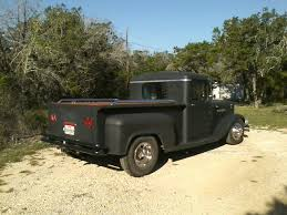 100 Rat Rod Semi Truck 1963 X Pickup Conversion With Twin Turbo Kit Hotrod Rat Rod