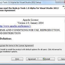 Nodejs Tools For Visual Studio