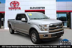 100 Used Trucks For Sale In Va By Owner PreOwned 2016 D F150 Lariat Crew Cab Pickup In Gloucester