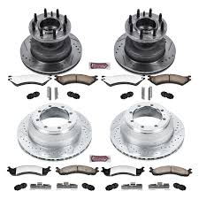 PowerStop® K4435-36 - 1-Click Extreme Z36 Truck And Tow Drilled And ... How To Change Your Cars Brake Pads Truck Armored Off Road Brakes Jeep Jk Wrangler Front Top 10 Best Rotors 2018 Reviews Repair Calipers 672018 Flickr Amazoncom Power Stop Kc2163a36 Z36 And Tow Kit K214836 Rear Upgrading Ram 2500 With Ssbc Rear Complete Guide Discs For 02012 Gmc Terrain Drilled R1 Concepts Inc Full Eline Slotted Ebc Rk7158 Rk Series Premium Plain 1piece