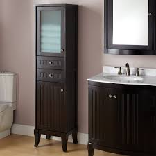 bathroom adorable floor cabinet with drawers wall mounted