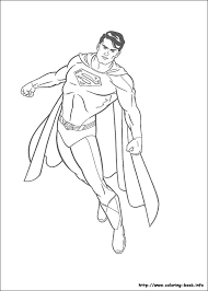 Incredible Ideas Superman Coloring Page Book Pages Free On Art