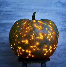 Electric Pumpkin Carving Tools Uk by Diy Constellation Pumpkin Popsugar Home