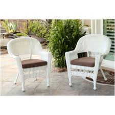 decorating gorgeous white wicker kohls outdoor furniture with