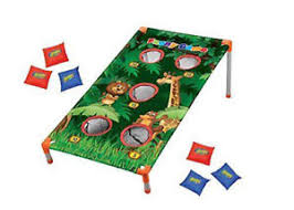Image Is Loading Kids Zoo Animal Bean Bag Toss Jungle Party