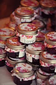 Rustic Jam Wedding Favours