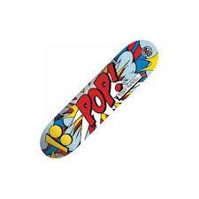 plan b skateboards plan b pudwill p2 pop art skateboard deck 7 75