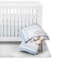 Trend Lab 6 Piece Crib Bedding Set Forest Tales Tar