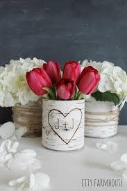 DIY Birch Flower Vases City Farmhouse 682x1024