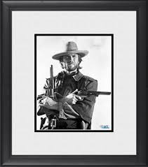 Clint Eastwood The Good, The Bad And The Ugly Framed 8