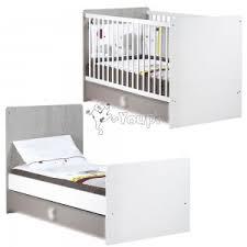 chambre evolutive sauthon lit de bébé non transformable 60 x 120 cm nael sauthon