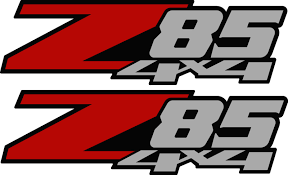 Product: 2 - Z85 4x4 Chevy Decal Sticker Parts For Silverado GMC ... Alabama Crimson Tide 4x4 Truck Decal Stickers Free Shipping Hub Tire Tread Mud Terrain Ta 4x4 Truck Jeep Hood Body Graphic Duck Hunting Sticker Camo Max Grass Decal For F150 F Red F250 Firefighter Edition Decals Fire Ford Torn Stripes Bed Vinyl Graphics Chevy Gmc Z71 Off Road Decalsticker X2 Pair Sticker Black Logo Decal 4wd Ford Ranger 22014 T6 Officially Licensed 092014 Pair 09144x4 Beautiful Nissan 7th And Pattison Free Shipping 2pc Piranhas Sticker Vinyl Off Road Reaper Rip Side Mudslinger 2015 2016 2017 2018