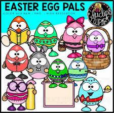 Easter Eggs Clip Art Big Bundle Educlips Clipart