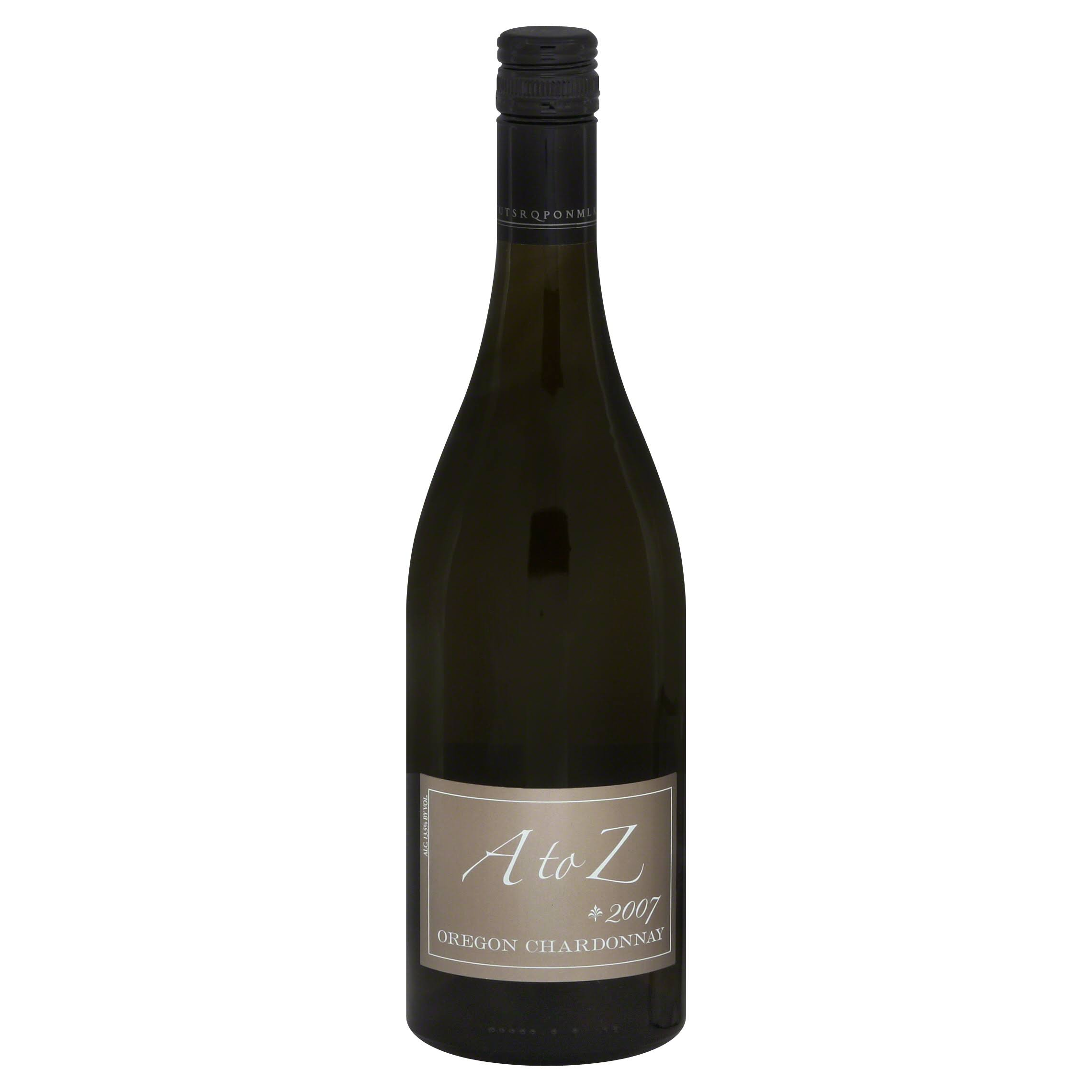 A To Z Chardonnay - Oregon, 2012