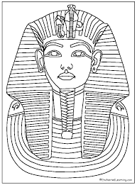 Egyptian Party Printable Ancient Egypt Coloring Pages For Kids