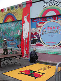 clarion alley mural project wikipedia