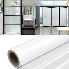 1 rolle abnehmbare fenster milchglas aufkleber badezimmer
